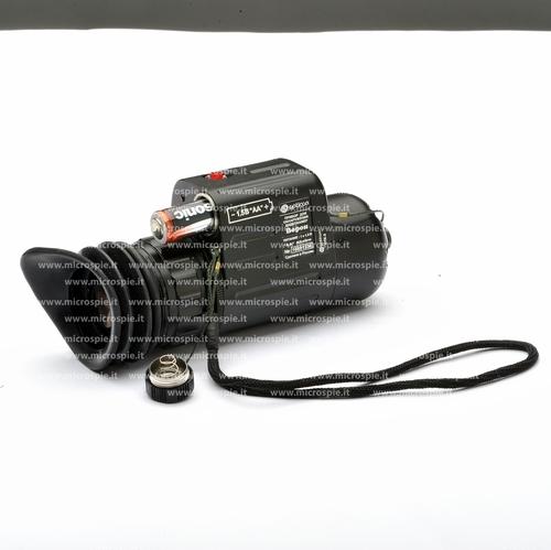 Camera detector battery open